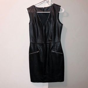 ZARA leather dress - Small